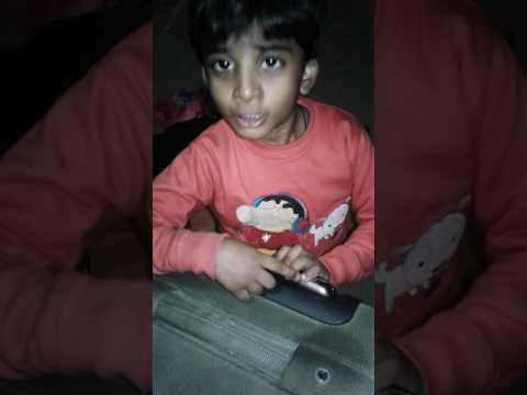 raghav dhire chalo by 2 years old ved
