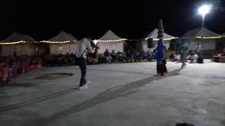 Rajasthani dance by Rajasthani Girl - Rajasthan Culture in Night
