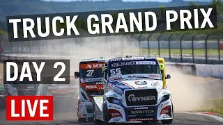 LIVE Nurburgring Truck Grand Prix 2019 (Day 2 - SUNDAY)