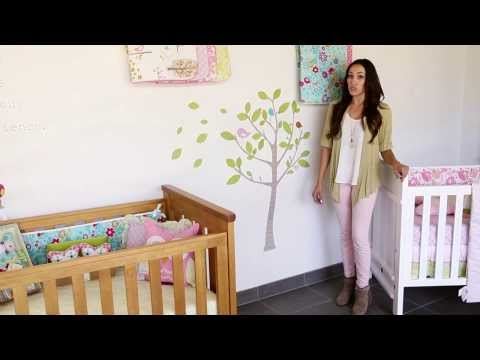 Living Textiles Baby: How To Apply Wall Decals