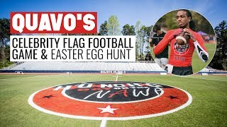 Huncho Day: Quavos Easter Sunday Football Game Easter Egg Hunt
