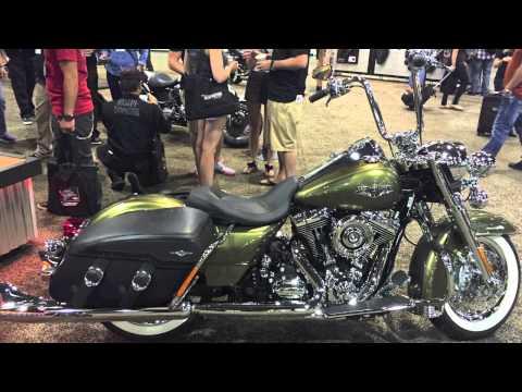 2016 Harley-Davidson Motorcycles from Las Vegas Dealer Show 2015
