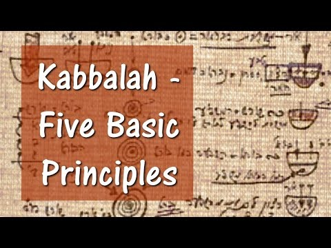 Kabbalah - Five Basic Principles