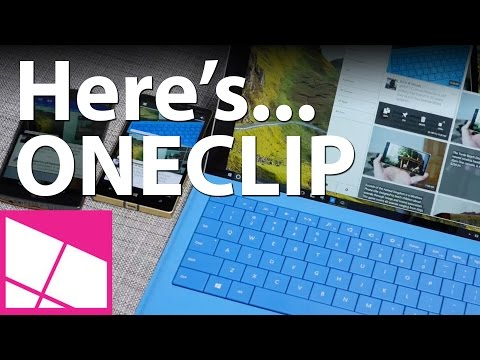 OneClip on Android, Windows, Windows Phone