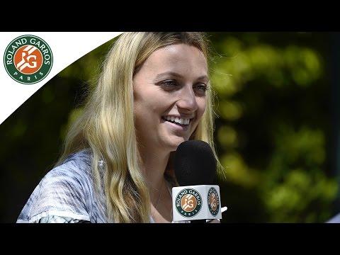 Petra Kvitova open's up - 2015 French Open
