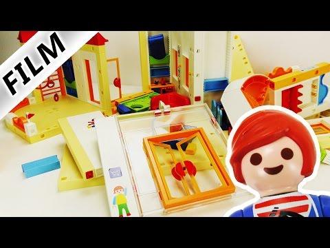 Playmobil Film Deutsch - KITA IST ZERSTÖRT! WAS HAT JULIAN NUR GEMACHT? Familie Vogel