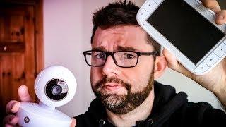 Baby Monitor Review - Motorola MBP50