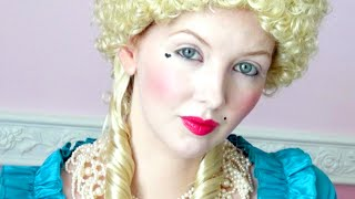 Historically Accurate | 18th Century / Marie Antoinette Makeup Tutorial