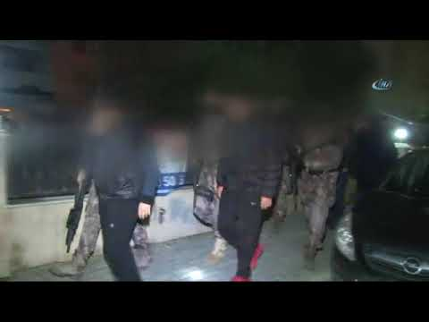 İstanbul'da DEAŞ Operasyonu: 54 Gözaltı