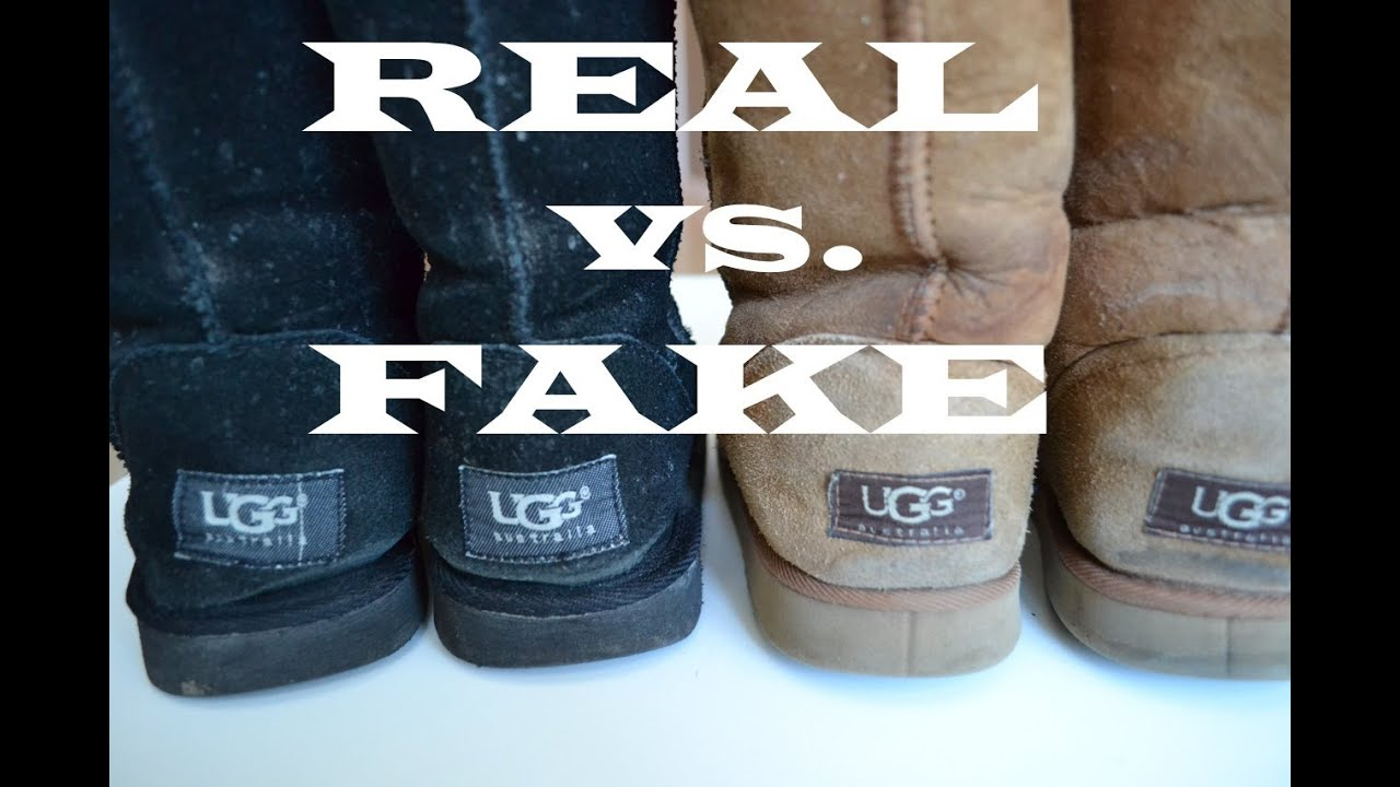 real ugg logo on boots