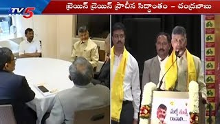 CM Chandrababu America Tour Latest Updates