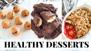 HEALTHY SUMMER DESSERTS: easy vegan dessert recipes