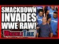 Smackdown INVADES Raw! | WWE Raw, Oct. 23, 2017 Review MP3