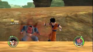 Dragon Ball: Raging Blast 2 Demo - Ultimate Gohan VS Dabura