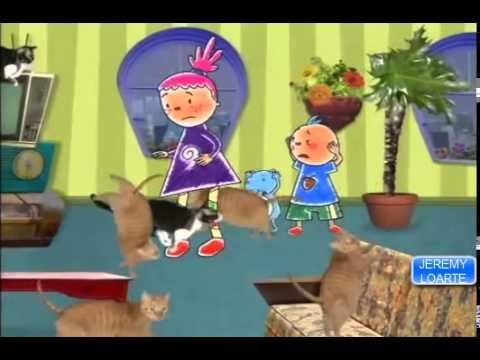 Pinky Dinky Doo Dia De Lluvia Español Latino Discovery Kids video