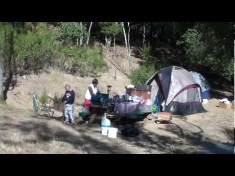 camping at san francisco (California USA China Camp State Park CAMPGROUND) 三藩市的露營