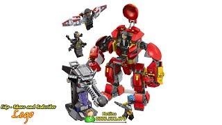 Lego - Đồ Chơi Xếp hình Lego Ninjago - Bộ Lego Super Iron Man 420 PCS - Lego Ninjago Toys