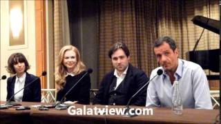 Sally Hawkins , Nicole Kidman , Paul King & David Heyman ,cast of Paddington.
