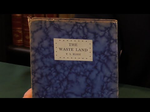 The Waste Land, T. S. Eliot. First Edition, 1923. Peter Harrington Rare Books