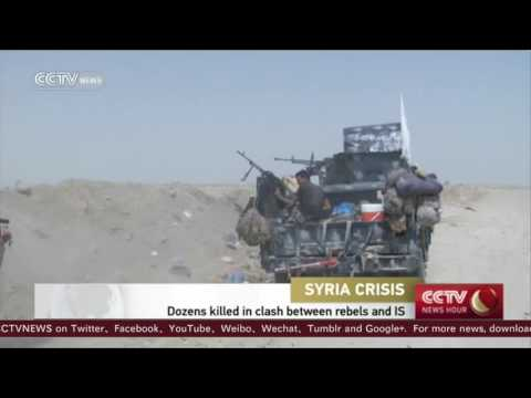 Clashes between ISIL and Syria rebels kill dozens near Turkey 1