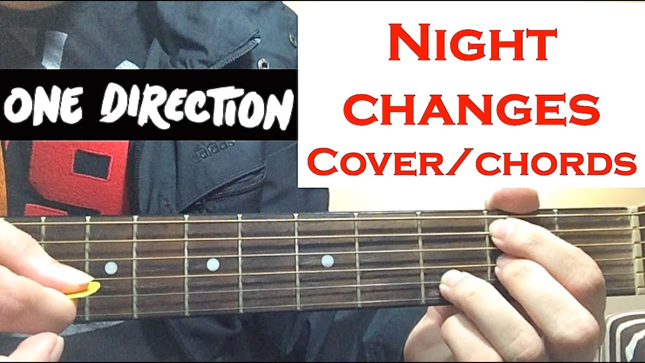 """One Direction """"Night Changes"""" GUITAR CHORDS TUTORIAL"""