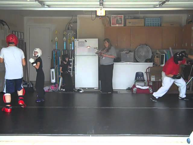 Sparring at Bowley Kenpo Karate - Warm Ups