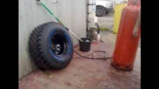 How not to inflate a tyre remix