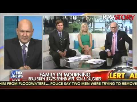Fox & Friends psychoanalyzes Joe Biden after son's death