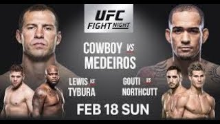 UFC Fight Night 126 Preview