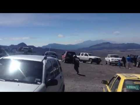 Volcán Cotopaxi - Ecuador - filmado desde los 4650 msnm