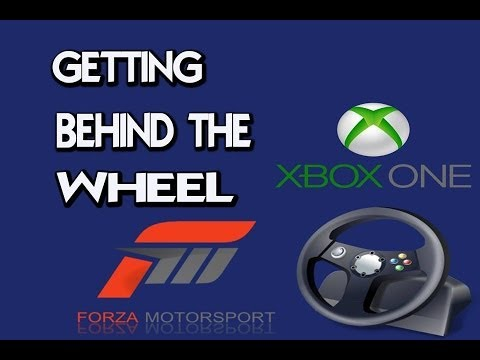 Forza 5: Thrustmaster TX 458 Wheel and Learning How To Use It Live!!