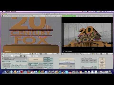 Creare Animazioni 3d Con Blender - Intro 20th Century Fox video