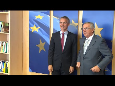 NATO Secretary General with President of European Commission, 16 JUN 2015