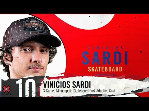VINICIOS SARDI: #10 | X Games 2019 Top 10 Moments