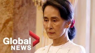 Aung San Suu Kyi addresses Myanmar genocide in speech at The Hague | FULL