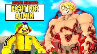 I got an ADMIN ONLY Quest.. OWNER FIGHT GONE WRONG.. (Roblox)