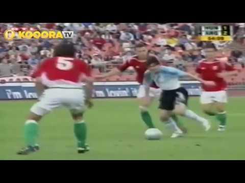 هل تعلم كيف انتهت اول مباراة لميسي مع الأرجنتين؟