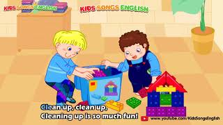 The Clean up Song [Kids Song EngLish]
