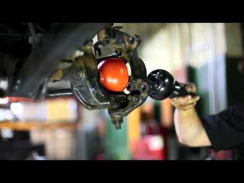 RCV Dana 30/44 JK Unit Bearing Axle Installation