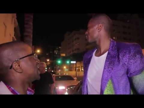 """Spécial """"PowerSerge""""avec la star de la NBA Serge Ibaka et la star américaine Keri Hilson a Miami"""