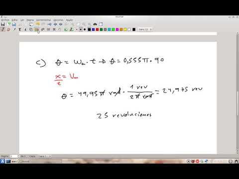 Ejercicio de velocidad y aceleración angular 9