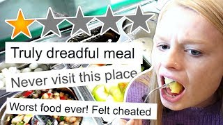 We ate at WORST REVIEWED RESTAURANT in our city!