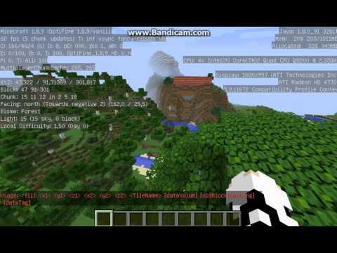 как быстро расчистить территорию в minecraft в одиночной игре #7