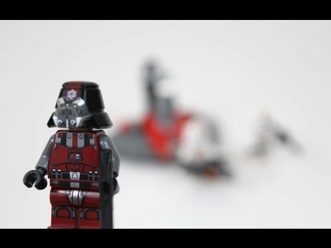 LEGO Star Wars Republic Troopers vs. Sith Troopers Review 75001