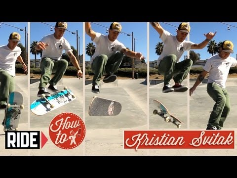 How-To Skateboarding: My Attempt At 1992 With Kristian Svitak