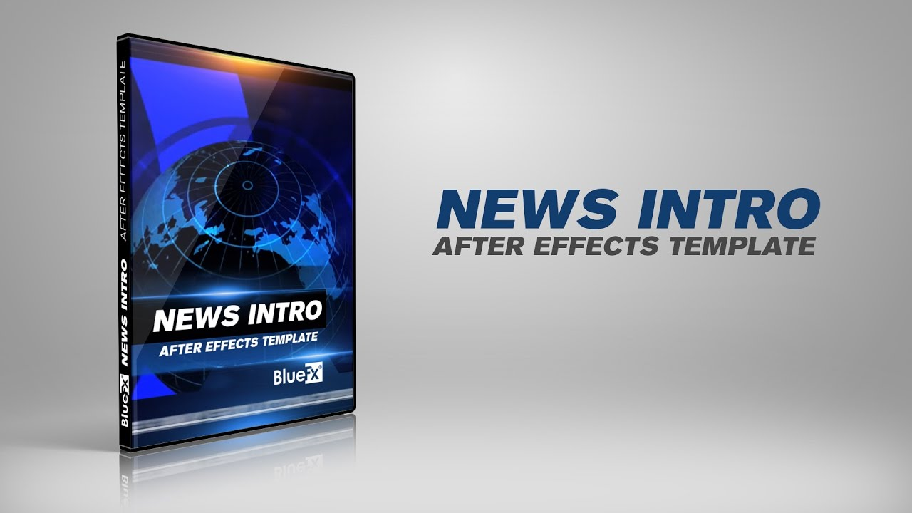 news intro opening after effects templates after effects projects youtube. Black Bedroom Furniture Sets. Home Design Ideas