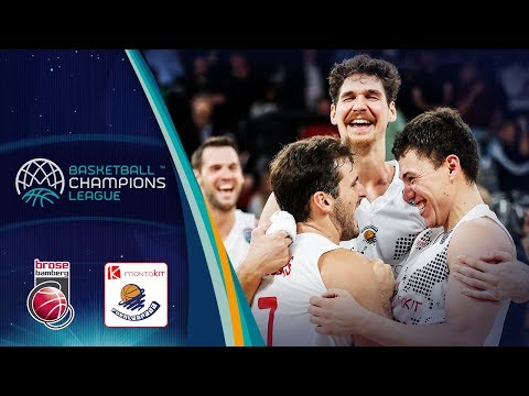 Brose Bamberg v Montakit Fuenlabrada - Highlights - Basketball Champions League