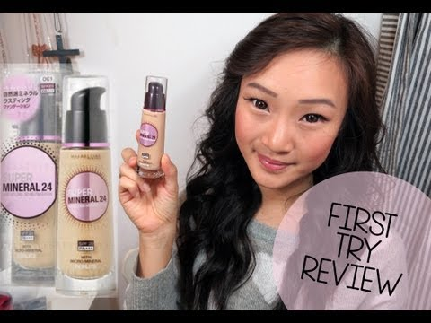 First Try Review ♥ Maybelline Super Mineral 24 Foundation