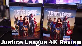Justice League 4K Blu-Ray Review