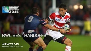 Brilliant Handoffs seen during RWC 2015 | Rugby World Cup Video Highlights